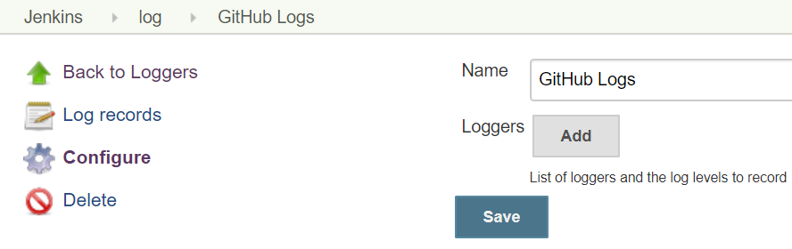 Log recorder
