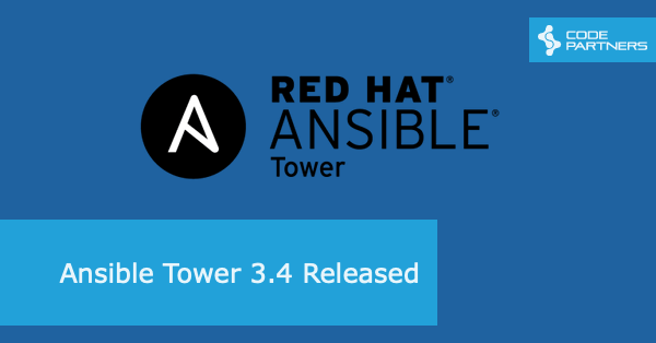 Ansible Tower 3 4 Released – Code Partners